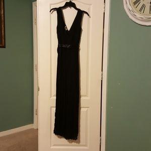 Sami & Jo long black dress size 6